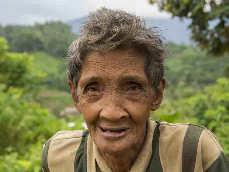 A tribal elder from the Tagbanua tribe in Quezon municipality, central Palawan. Photo: Rod Harbinson.