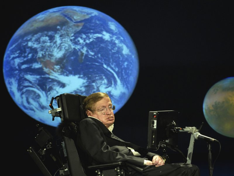 Stephen Hawking. Photo: NASA HQ PHOTO via Flickr (CC BY-NC-ND).