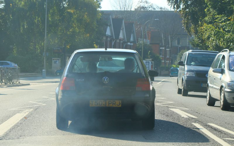 There's the pollution you can see, and the even more dangerous pollution that's invisible: the high levels of nitrogen oxides produced by many modern diesel cars. Photo: Adrian Midgley via Flickr (CC BY-NC-ND).