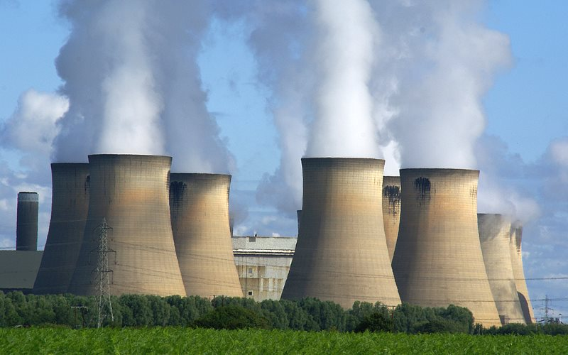 Investment managers need to become shareholder- activists on climate, or their wealth, and that of their clients could go up in smoke. Photo: Drax Power Station by Ian Britton via Flickr (CC BY-NC).