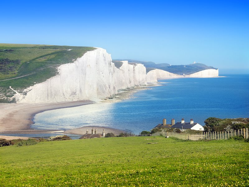 The protection of our coastal waters, management of our fishers, cleanliness of our air and the protection of our widlife are all mandated by European law. Outside the EU, this iconic view of the Seven Sisters could be sadly tarnished. Photo: weesam2010 v