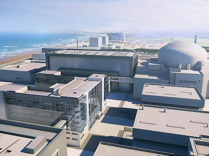 Hinkley C - it now looks as if the UK may not be saddled with this monstrous white elephant after all. Image: EDF.