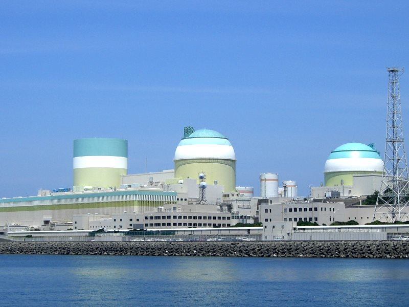 The three-unit Ikata nuclear power plant in the south of Japan.Its 890MW unit 3 is the only reactor in Japan that has a chance of restarting in 2016. Photo: ja:User:Newsliner via Wikimedia Commons (CC BY-SA).