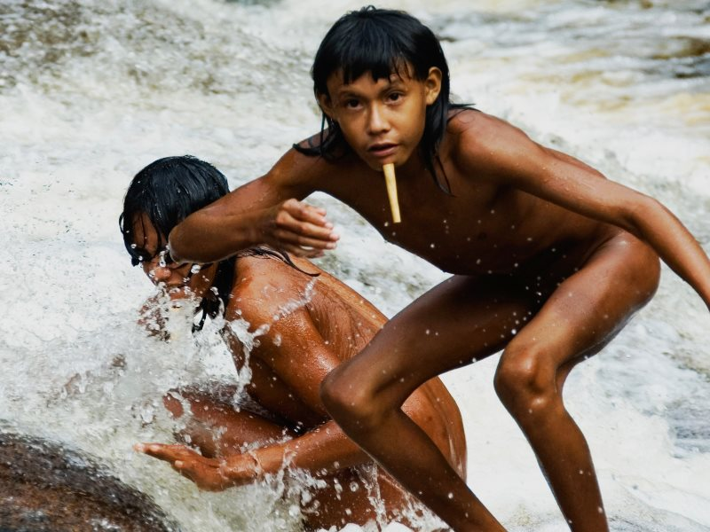 Brazil's Zo'é tribe are starting to recover from epidemics in the 1980s and '90s now that their land is protected. Photo: Survival International.