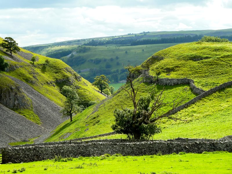 Can we secure the future of our countryside - like this landscape in the Yorkshire Dales - with markets in 'ecosystem services'? Robert J Heath via Flickr (CC BY).