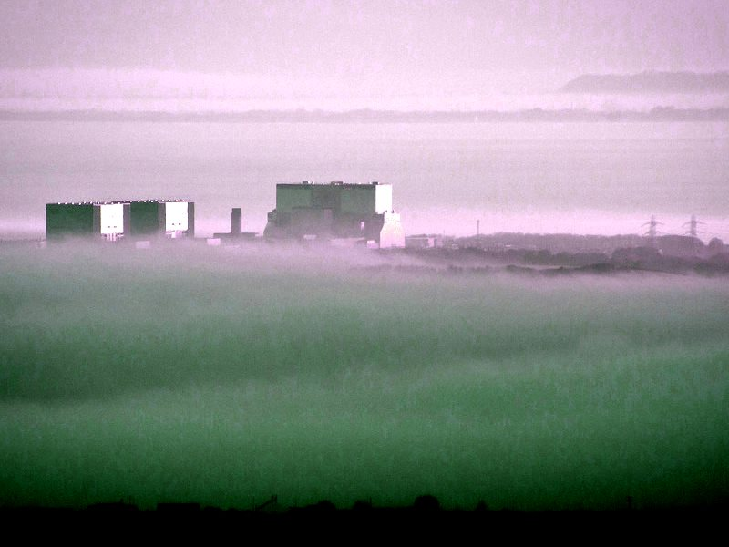 All adrift: Hinkley Point on a sea of mist. Photo: Mark Robinson via Flickr (CC BY-NC).