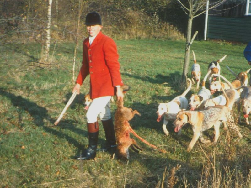 A legal fox kill before the 1994 ban. But in truth, little has changed since. Photo: League Against Cruel Sports.