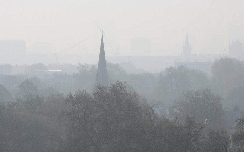 This smog, seen over London from Primrose Hill, is unlawful. But how to stop it if you can't take the government to court? Photo: Luton Anderson via Flickr (CC BY-SA).