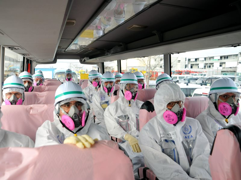 Fukushima: the third IAEA mission to review Japan's plans and work to decommission the damaged Fukushima Daiichi Nuclear Power Station, February 2015, Tokyo, Japan. Photo: IAEA Imagebank via Flickr (CC BY-NC-ND).