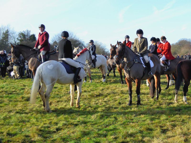 The Kimblewick hunt on its Boxing Day meet, 2016. Photo: Roger Marks via Flickr (CC BY-NC-ND).