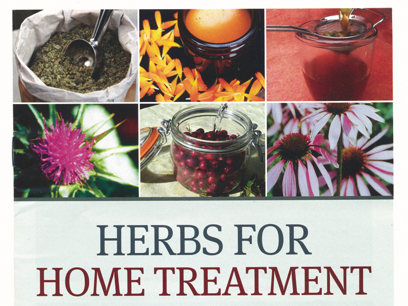 Book Herbs for home treatment