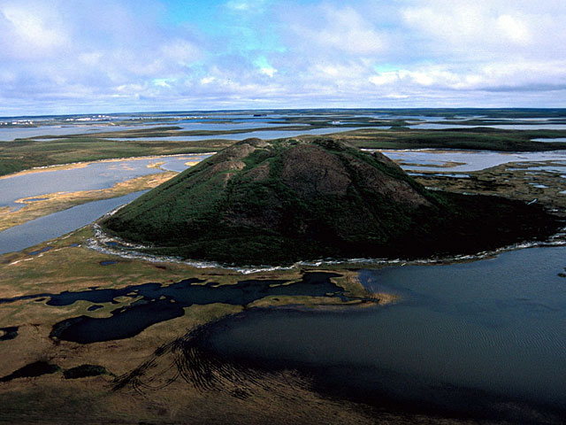 Near the village of Tuktoyaktuk