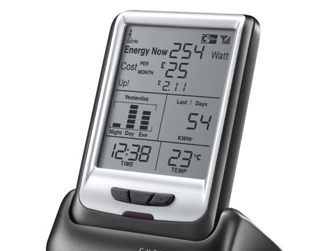 Energy-saving monitor