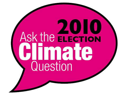 Ask the climate question
