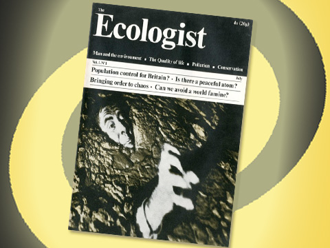 First issue of the Ecologist, June 1970