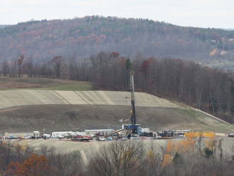 fracking boom affects dairy farmers
