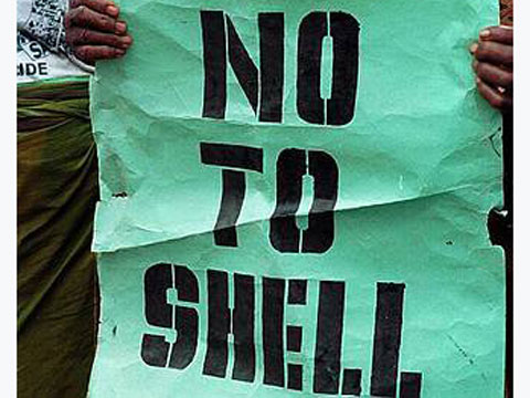 Say no to Shell poster