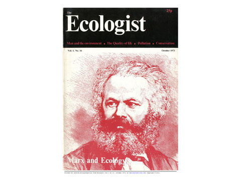 Front cover the Ecologist October 1970