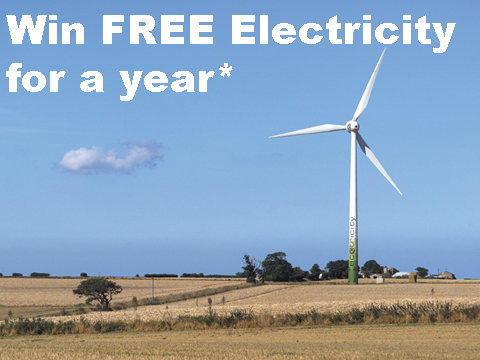 Win free Electricity for a year