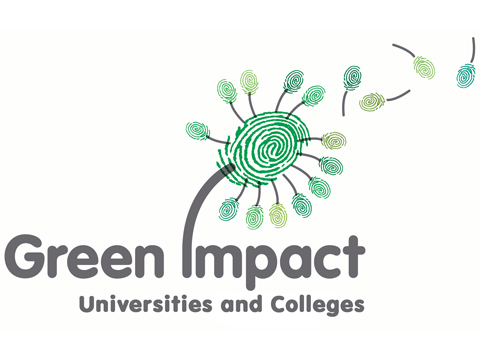 Green impact Universities and Colleges logo