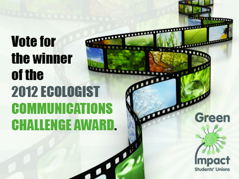 Vote for the winner of this years Communications Challenge Award