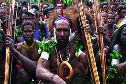 west papuan people
