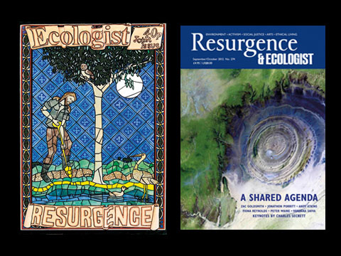 Resurgence & Ecologist covers