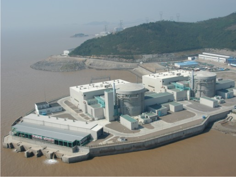 CANDU reactor at Qinshan