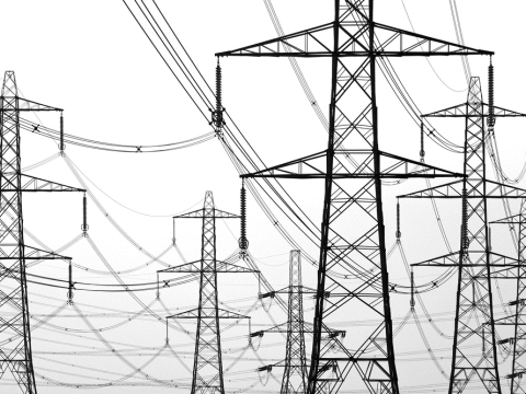 Pylons. Photo: shutterstock.com / tonyz20.