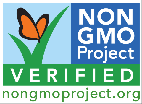 Guaranteed GMO-free. Image: the Non-GMO project.