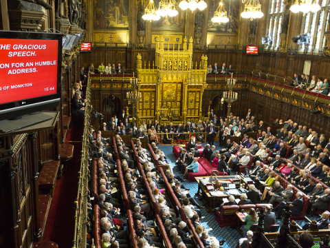 Fail - the House of Lords had its moment - and it flunked. Photo:  ukhouseoflords via Flickr.com.