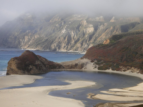 How long before Fukushima's radiation reaches America's west coast? Big Sur Pool, California. Photo: kptkarl via Flickr.com.