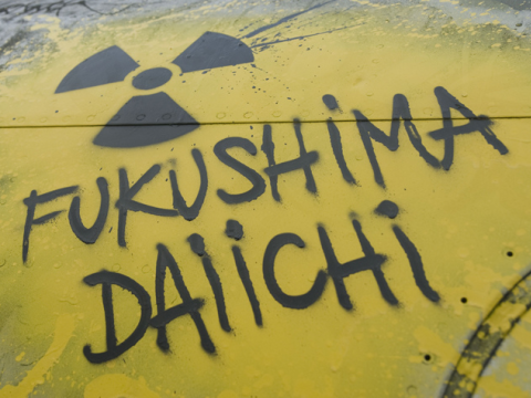 Fukushima graffiti. Photo: Abode of Chaos via Flickr.com.