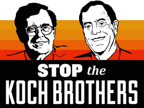 Stop the Koch brothers. Image: Free Press Pics via Flickr.com.