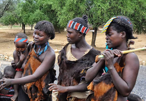 Tesemay Tribe members in Ethiopia's Omo Valley. Photo: Rod Waddington via Flickr.com.