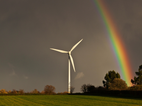 Wind turbines can be gorgeous - but not to Mr Pickles. Photo: Nick Ford via Flickr.com.