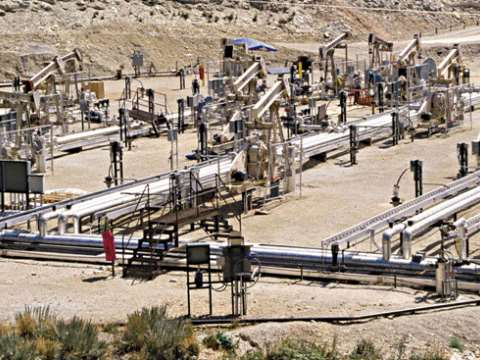 Shell's experimental in situ shale oil facility, Piceance Basin, Colorado, United States. Photo: Wikipedia.