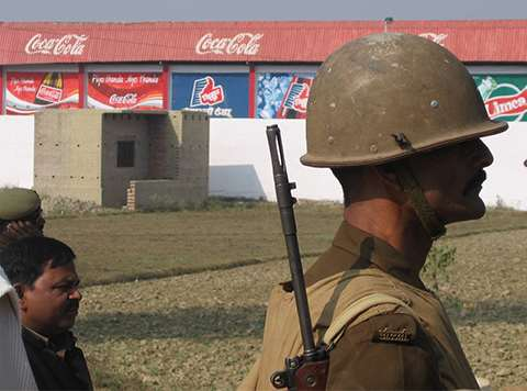 Coca-Cola Factory in Mehdiganj. Photo: India Resource Center.