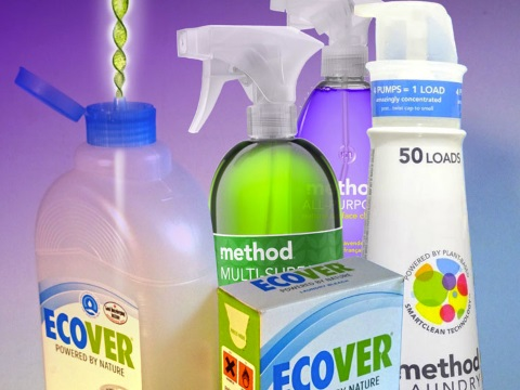 Synthetic biology in your cleaning products? Image: ETC Group.