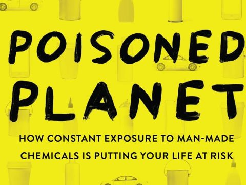 The front cover of Poisoned Planet by Julian Cribb, published by Allen & Unwin.