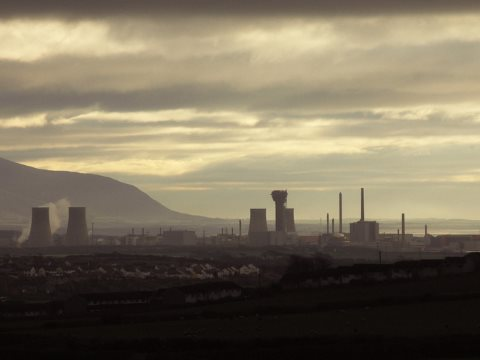 The Vale of Mordor - or is the Sellafield 'atom factory' in Cumbria, UK? Photo: tim_d via Flickr.