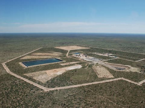 This $4.9bn diamond mine opens tomorrow in the Central Kalahari Game Reserve. Photo: Gem Diamonds.