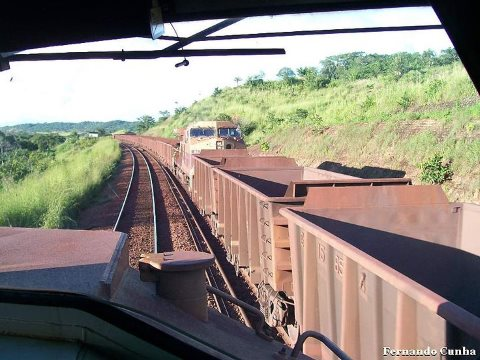 The Carajas railroad, almost 900km long, connects the Grande Carajas iron and manganese mine in the heart of the Amazon to coastal port of San Luis.