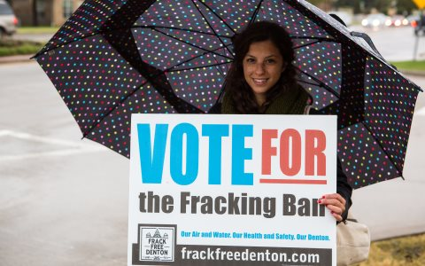 Photo: Frack Free Denton.