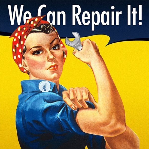 'We can repair it!' Photo: club125.greenbelt via Flickr (CC BY).