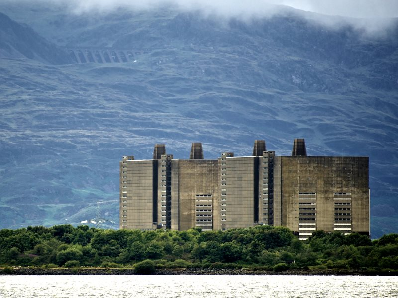 Trawsfynydd Nuclear Power Station. Photo: Stuart Herbert via Flickr (CC BY-NC-SA).