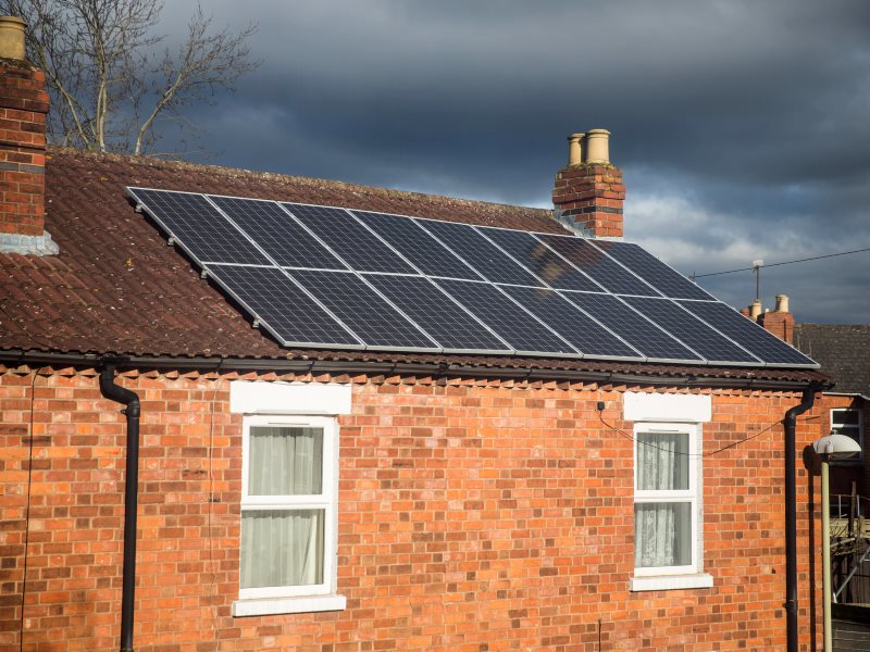 Dark skies gather over the UK's solar energy sector. Photo: reway2007 via Flickr (CC BY-NC-SA).
