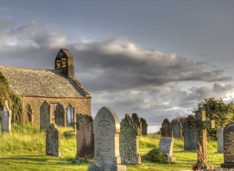 The land take for the Moorside nuclear plant will come right up to the ancient village of Beckermet, West Cumbria, and the 12th Century St Bridget's Church, built on the site of a 7th Century monastery. Photo: Chris Wood via Flickr.