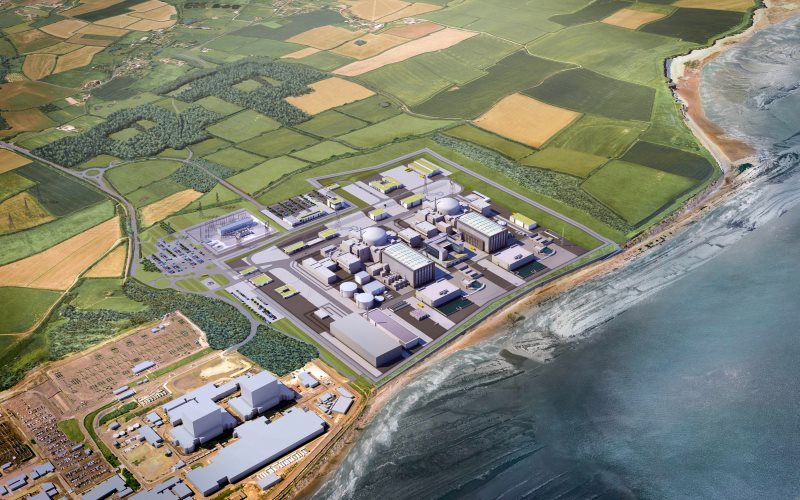 Is it all a pipe-dream? Artist's impression of the proposed Hinkley Point C power station. Image: EDF Energy.