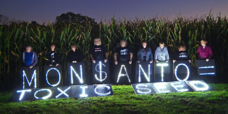 It's not just toxic seeds and herbicides ... Monsanto's PR practices carry their own toxic load. Photo: Light Brigading via Flickr (CC BY-NC).